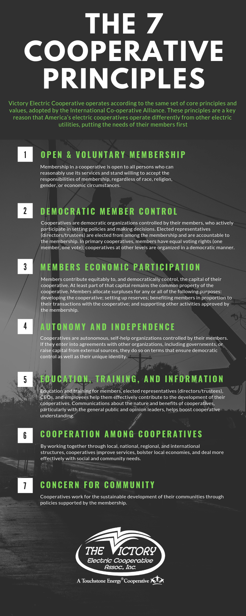 The 7 Cooperative Principles